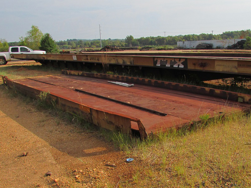Sterling rail flat car bridges for sale for Railroad motor cars for sale